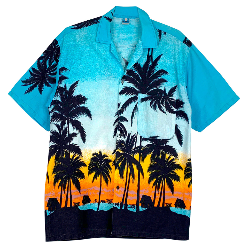 COOL HAWAII SKJORTE - M