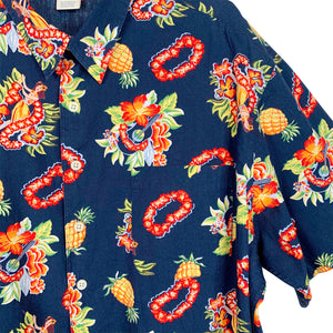 FIN HAWAII SKJORTE - L + XL