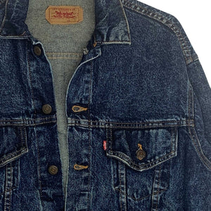 LEVIS DENIM JAKKE - S