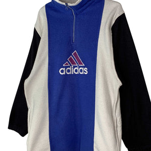 ADIDAS FLEECE JAKKE - L