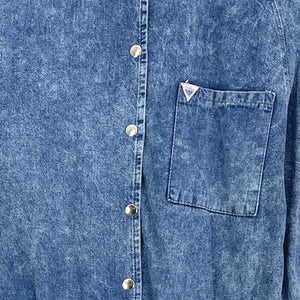 DENIM KJOLE - L