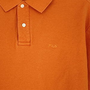 ORANGE FILA POLO - M
