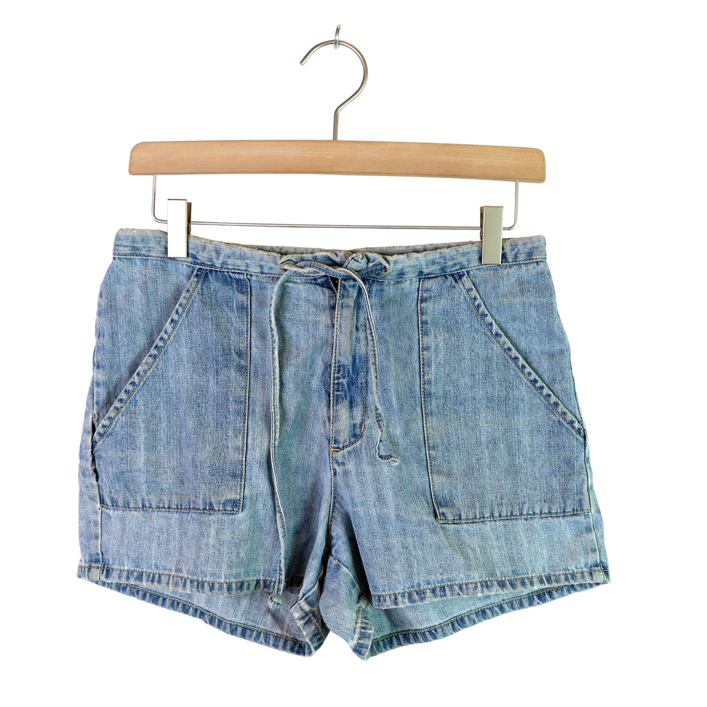 DENIM SHORTS, DAME - S