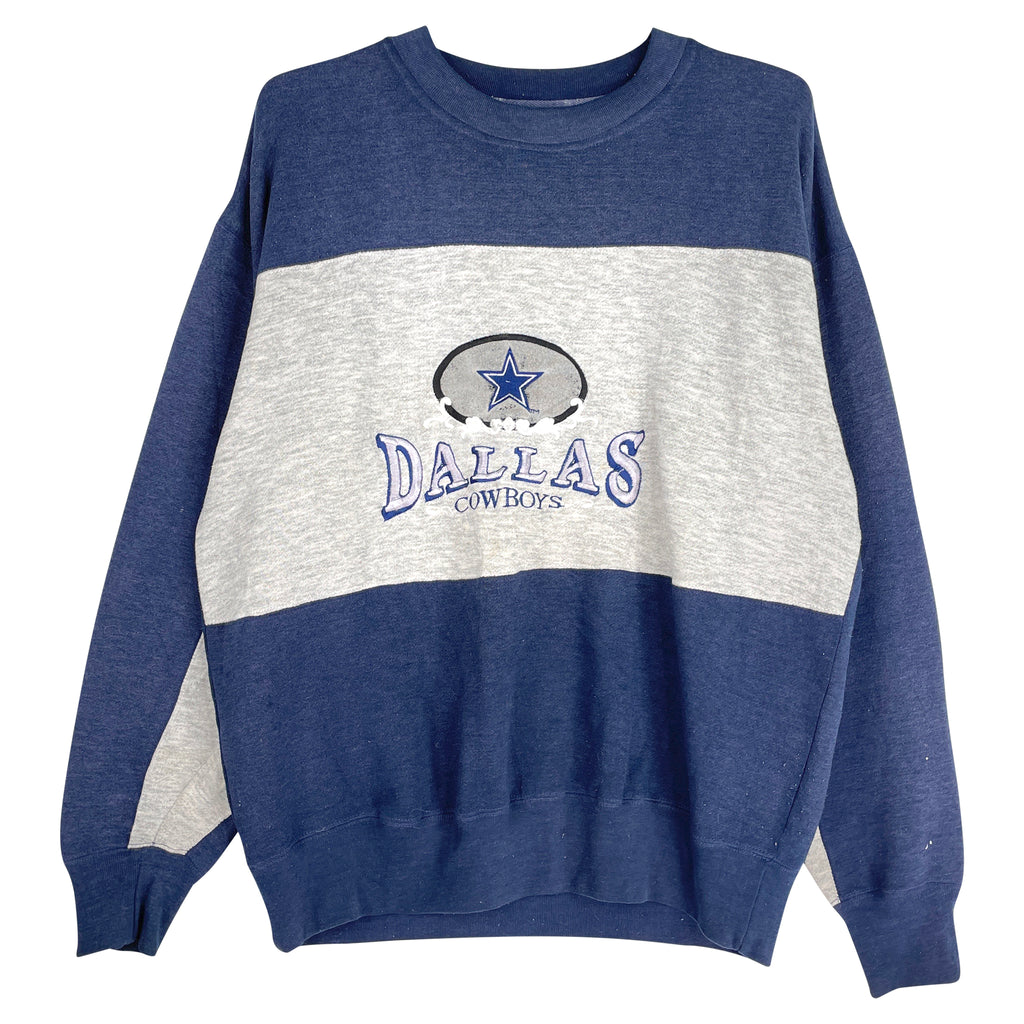 DALLAS COWBOYS SWEAT - M - hellovintage.dk