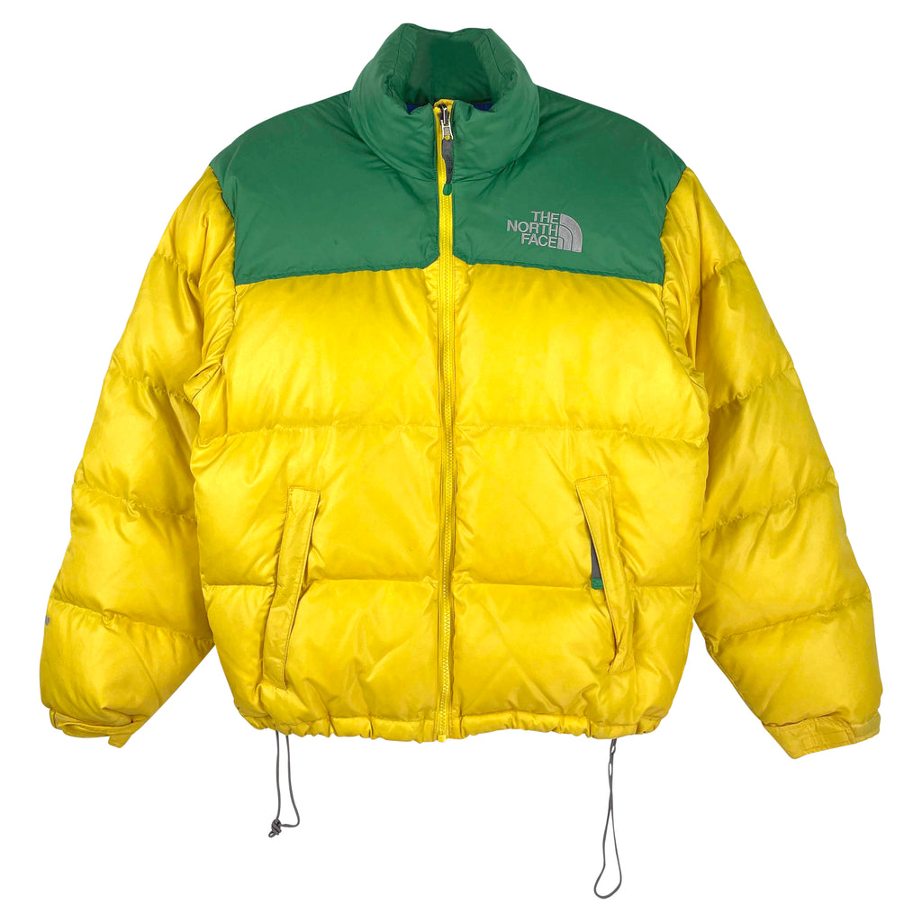 GUL NORTH FACE NUPSTE - HERRE - S