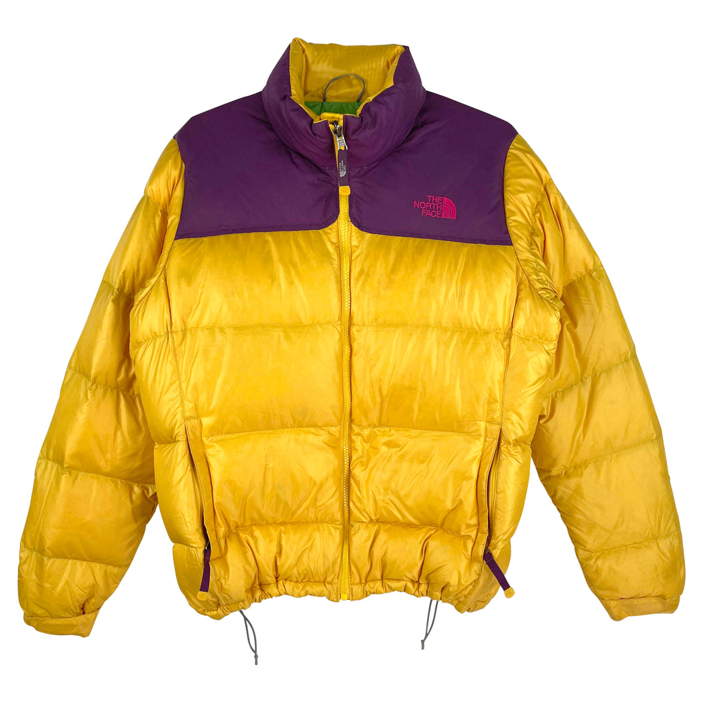 GUL NORTH FACE NUPSTE - HERRE - M