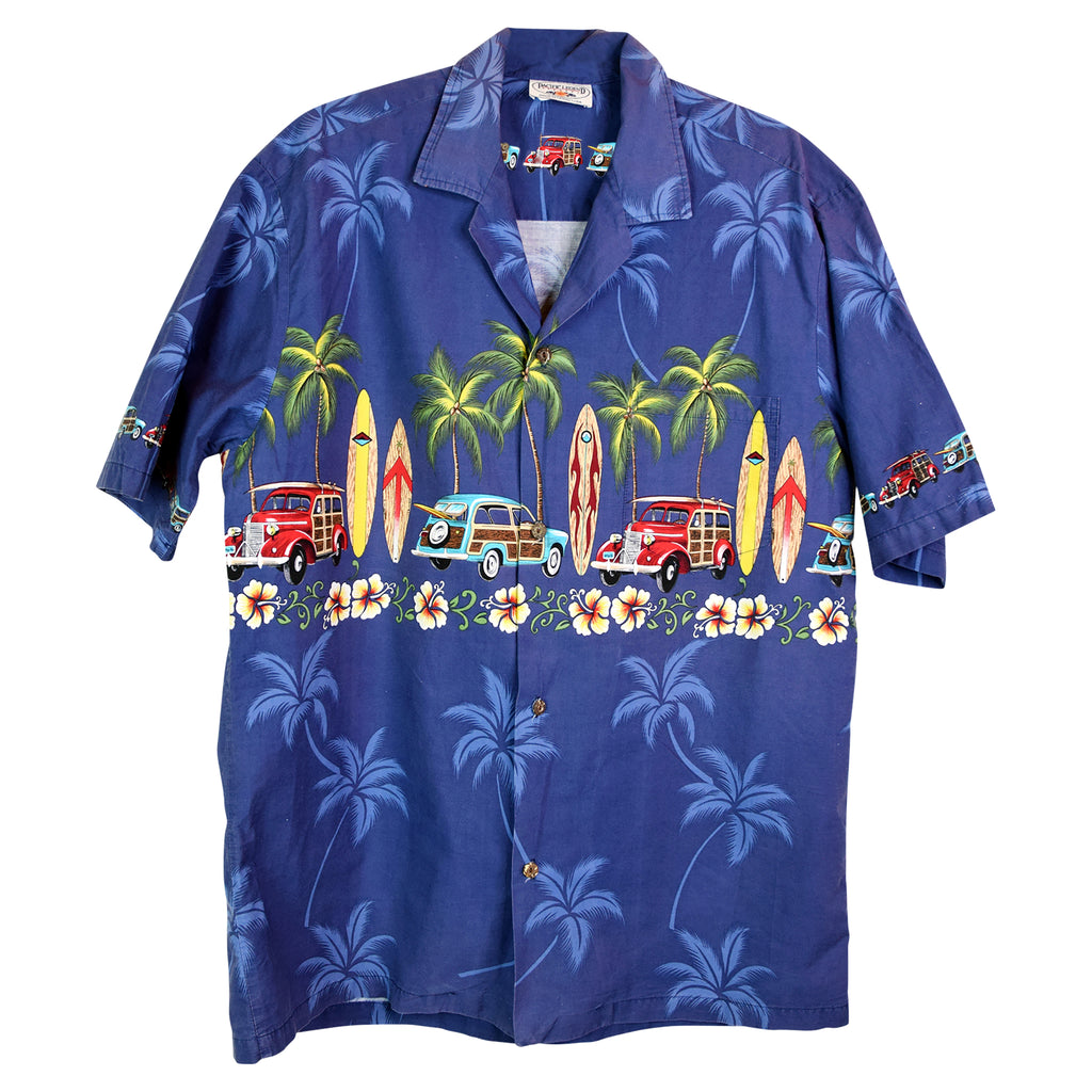 HAWAII SKJORTE - XL