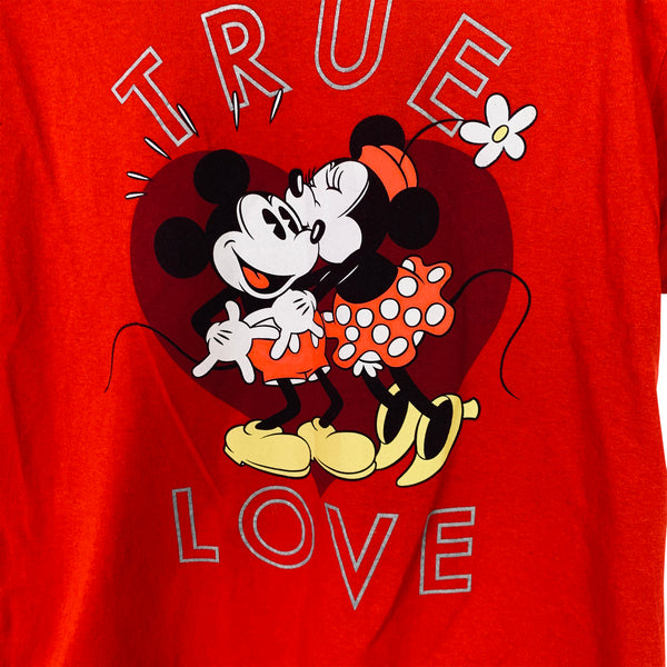 MICKEY & MINNIE T-SHIRT - L