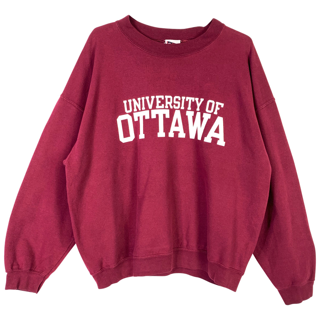 BORDEAUX SWEATSHIRT - XL