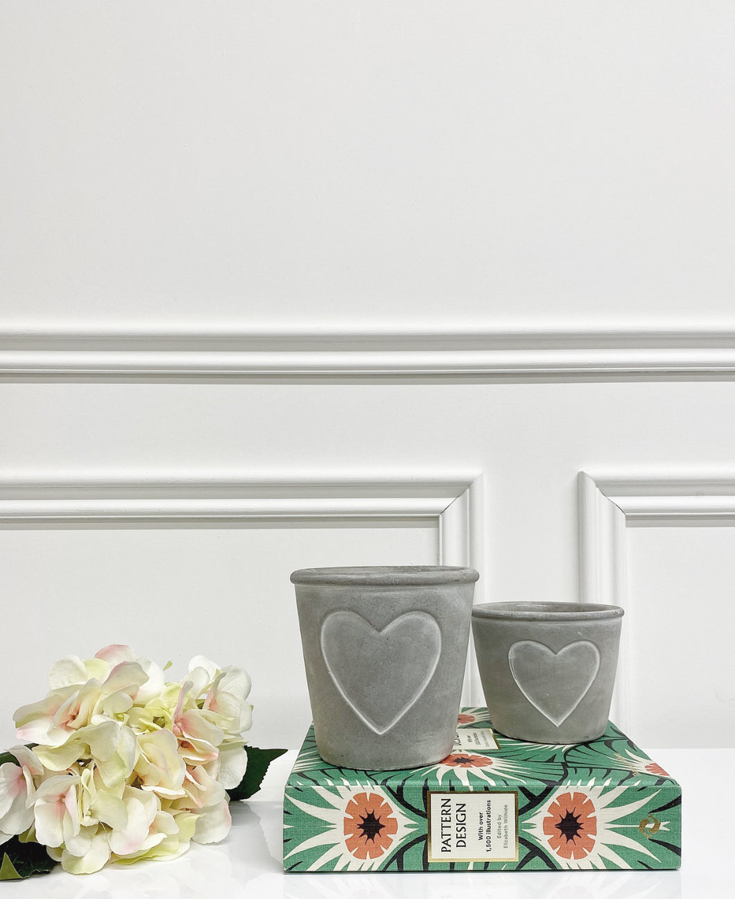 Harlow Heart Planters