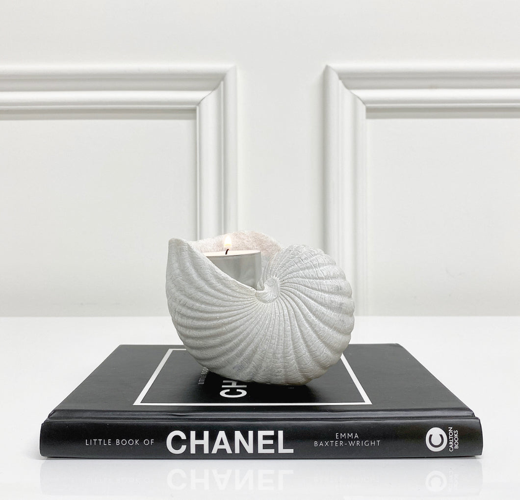 Tia Shell Tealight Holder