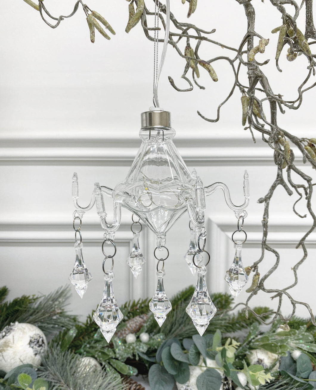 Glass Chandelier Hanging Decoration