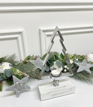 Load image into Gallery viewer, Christmas Tree Tea Light Holder