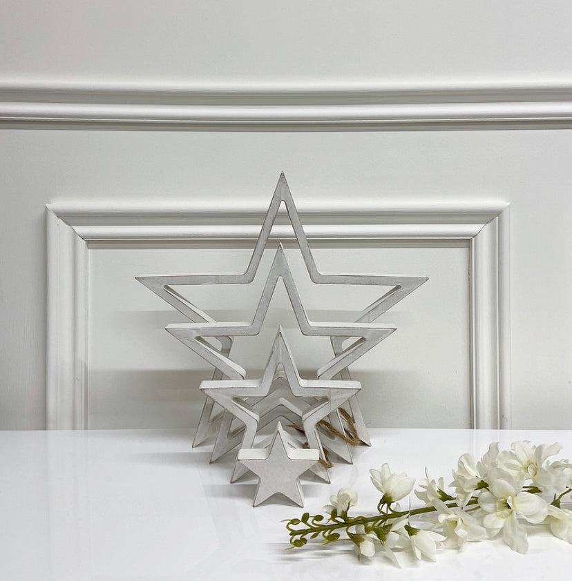 Hanging Star Set (Available in Three Colours)
