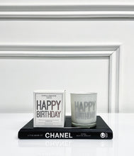 Load image into Gallery viewer, Gisela Graham Happy Birthday Candle with Box - Vanilla Scent