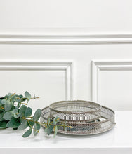 Load image into Gallery viewer, Silver Kinsella Mirror Tray (Available in Two Sizes)