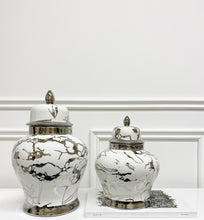Load image into Gallery viewer, Bentley Marble Ginger Jar (Available in Two Sizes)