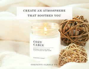 Cedar Candles Soy Wax 6, 8 oz: Cedar + Pine, Juniper + Cedar, Cedar + Vanilla, Cozy Cabin, Winter Garland, Roasted Chestnuts
