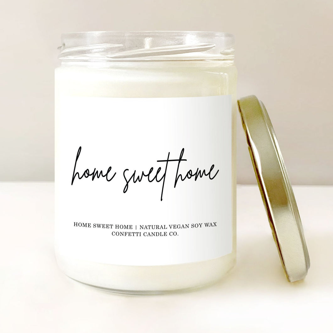 Housewarming Candle | Confetti Candle Co