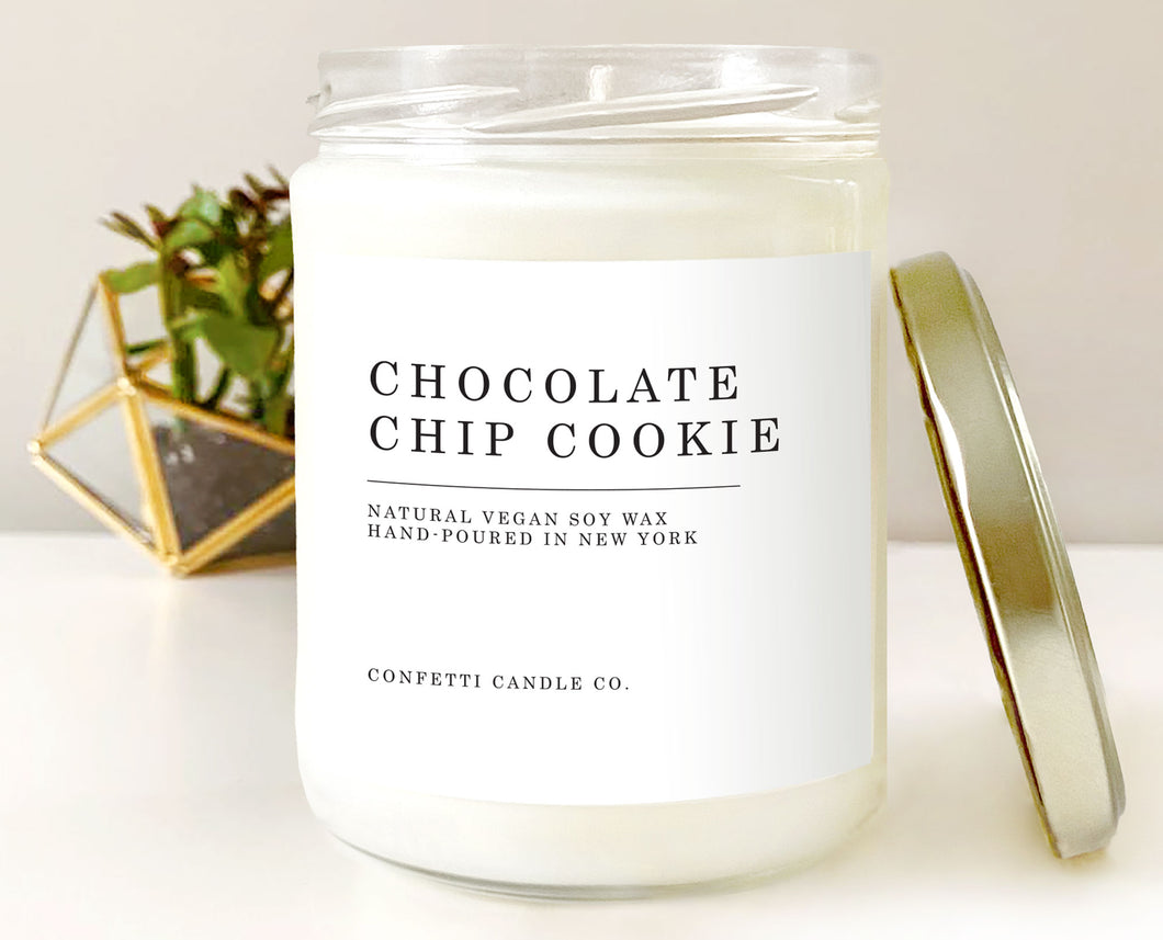 Chocolate Chip Cookie Vegan Soy Candle