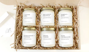 Natural Soy Candle Subscription | Six Candles a Month
