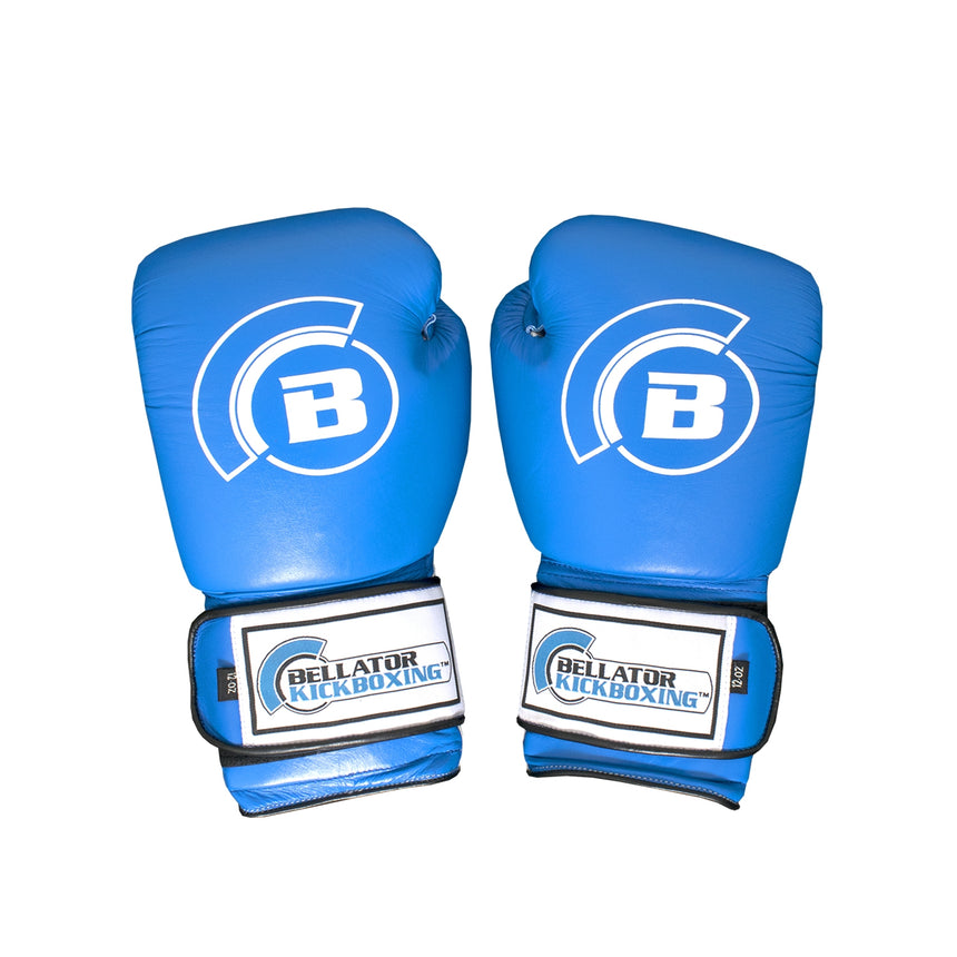 Bellator Boxing Gloves - Blue top