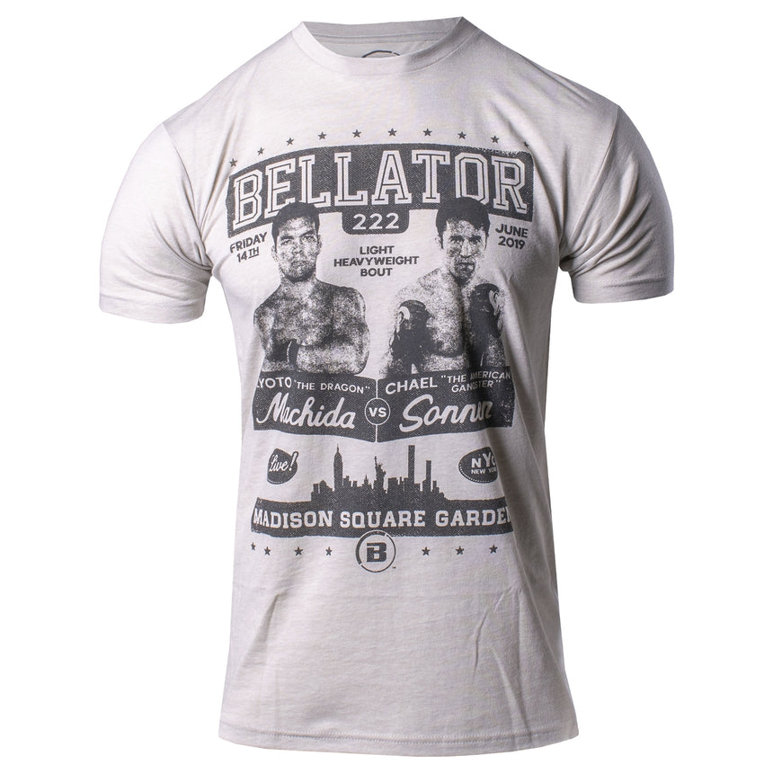 Bellator 222 Fight Poster Tee Front