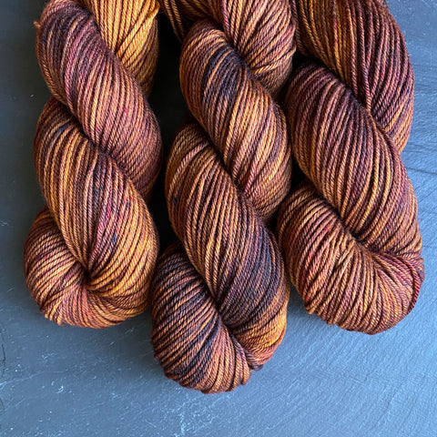 Brûlée on NSW Merino Worsted