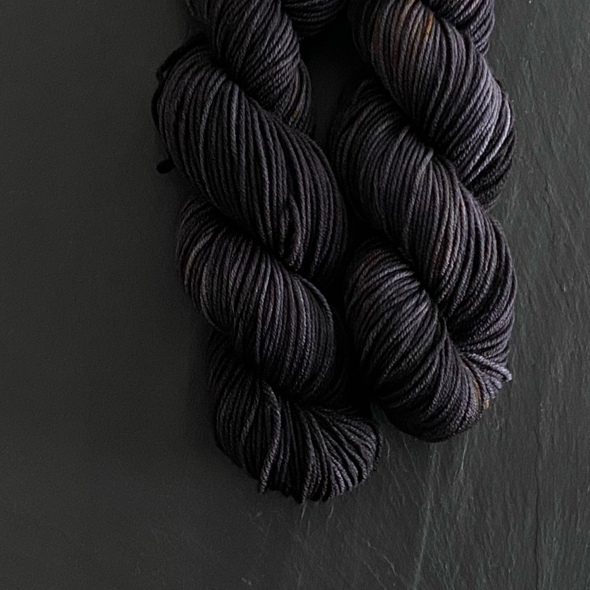 Soot on Merino Worsted 8 Ply