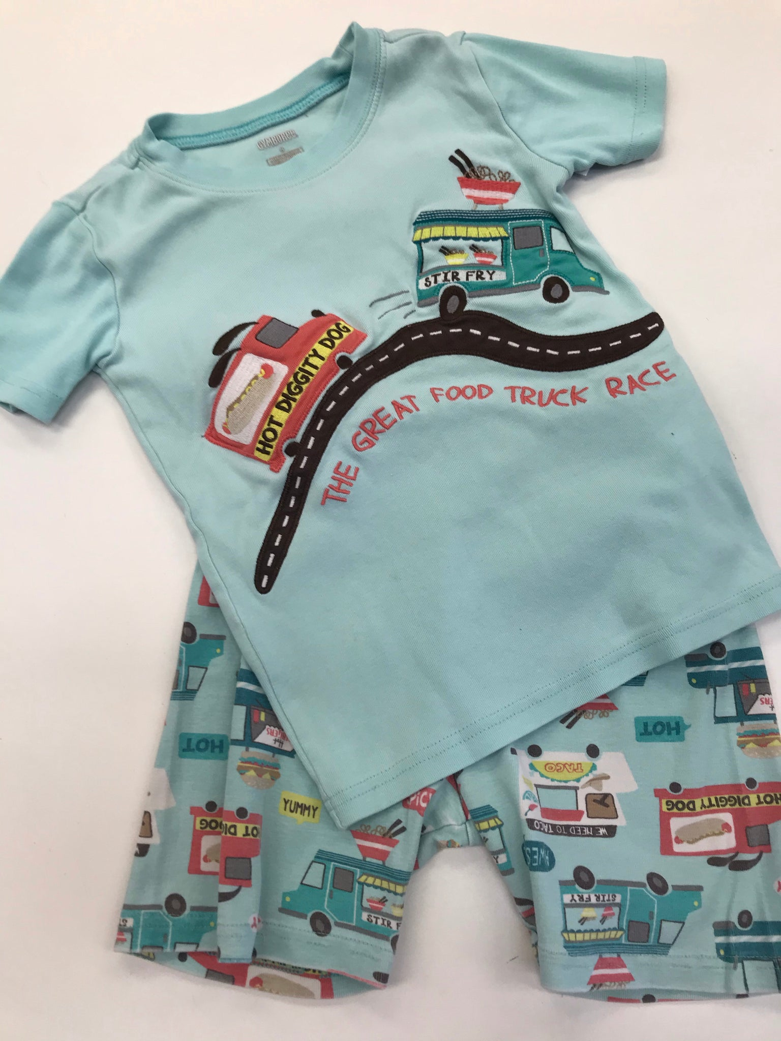 Boys Pajamas Gymboree 8