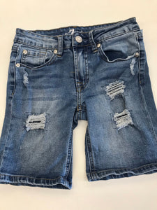 Girls Denim Shorts 7 for All Mankind 10