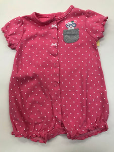 Girls Infant Outfit 1 piece Carter's 6 months