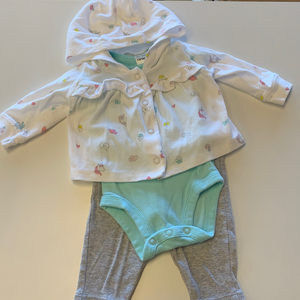 NB Carter's 3 Pc Set