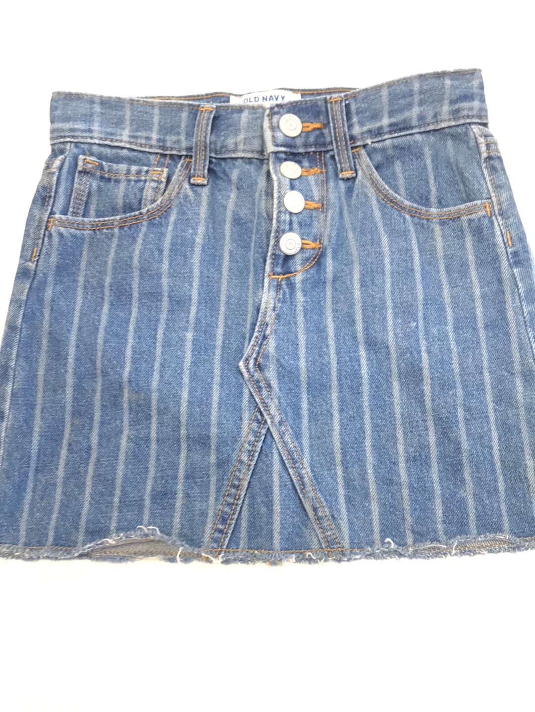 Denim Skirt 6 Old Navy