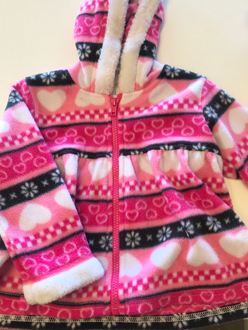 2T Kidget Zip Up Hoodie Sweater