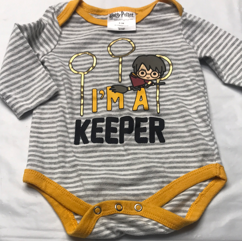 0-3 months Onsies Harry Potter