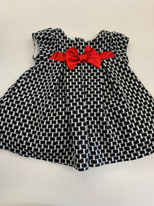 3-6 months Nannette Holiday Baby  Dress