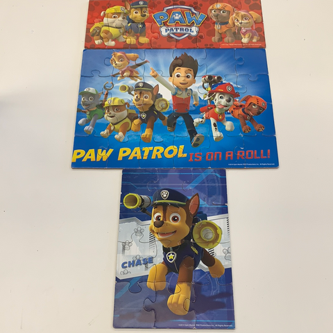 Puzzle's With Case Paw Patrol