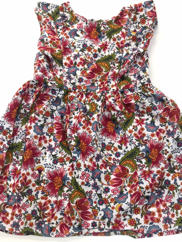 Floral Spring Dress City Streets 4T