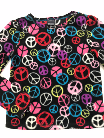 Peace Signs Sweater 6 Faded Glory