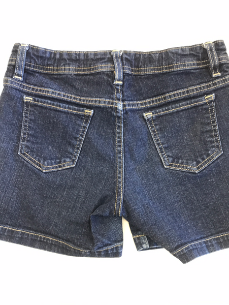 Girls Denim Shorts Faded Glory 10