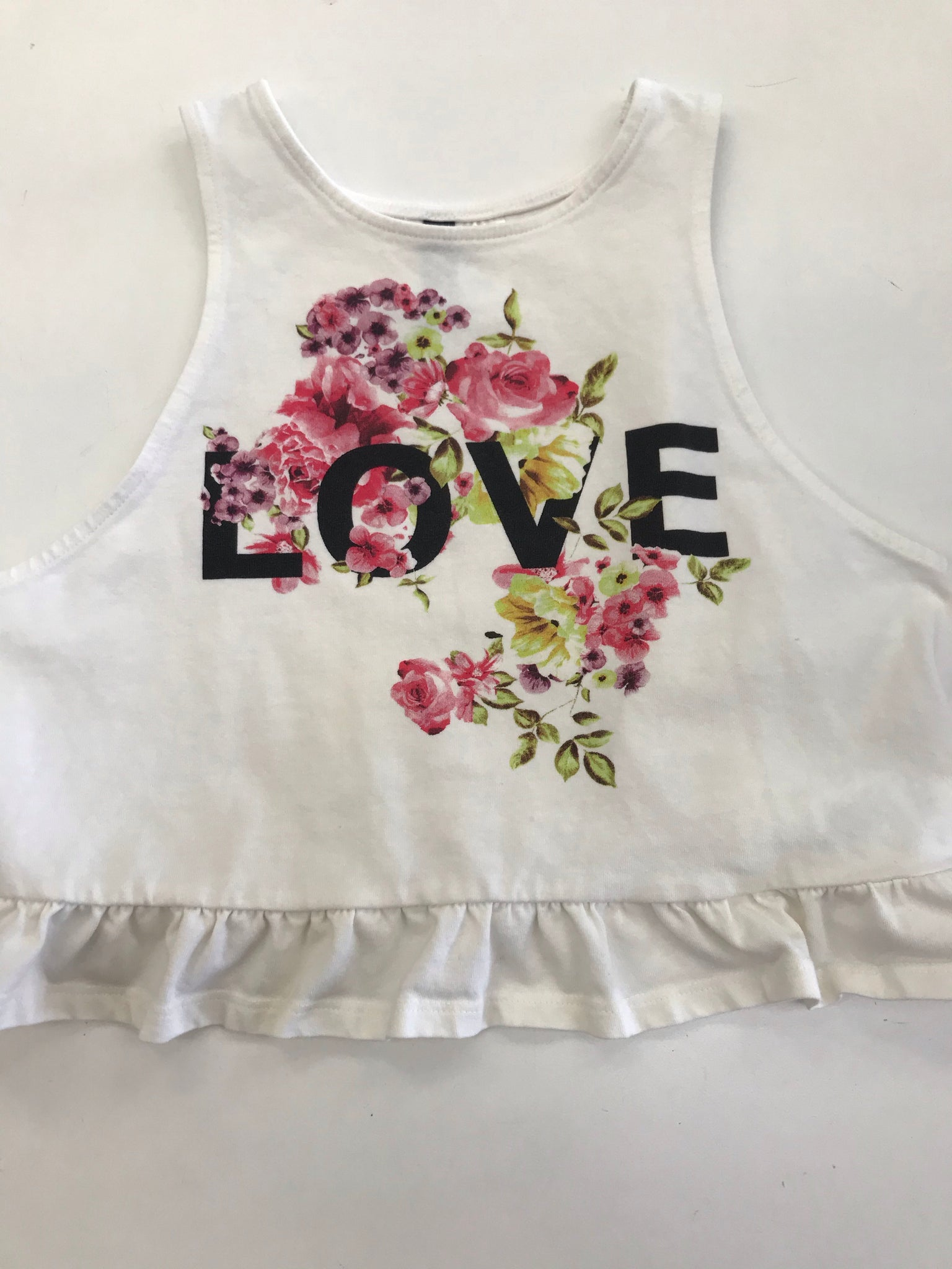 Girls Tank Top Divided 8