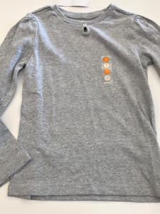 New Girls Long Sleeve Shirt Gymboree 7