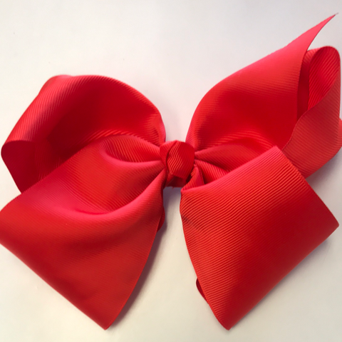 Hair Clip Red Bow