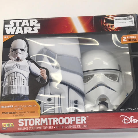 Costume Set Star Wars Stormtrooper