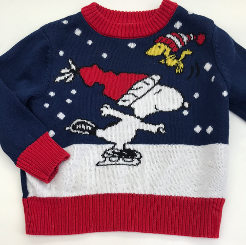 2t Peanuts Holiday Sweater