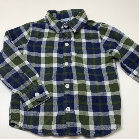 4T Little Lad Flannel Shirt