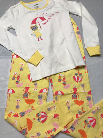 8 Gymboree pajamas 3pc