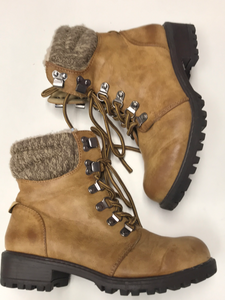 Girls Youth Combat Boots Justice 3