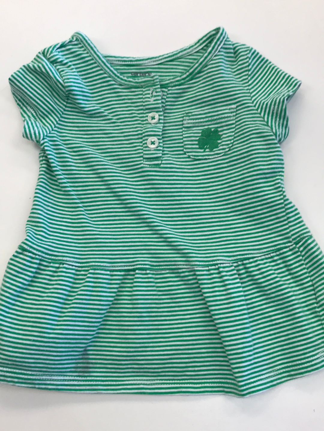 Girls Short Sleeve Shirt St Patrick's Day 9 months Circo